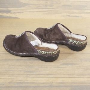 UGG Shoes - Ugg Australia Brown Suede Clogs